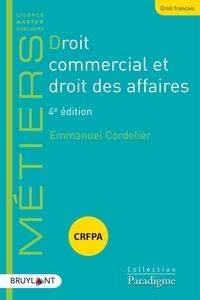 Emmanuel Cordelier - Droit commercial et droit des affaires.