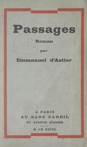 Emmanuel d'Astier - Passages.