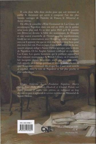 Le mémorial de Sainte-Hélène. Le manuscrit retrouvé