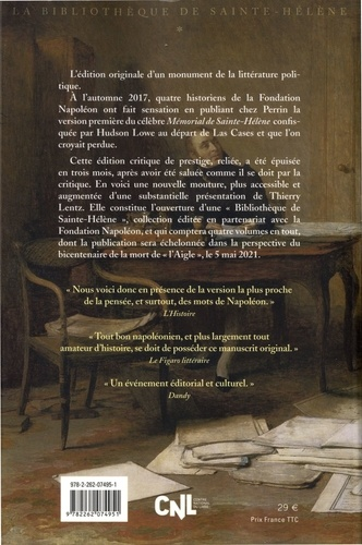 Le mémorial de Sainte-Hélène. Le manuscrit retrouvé. La bibliothèque de Saint-Hélène tome 1