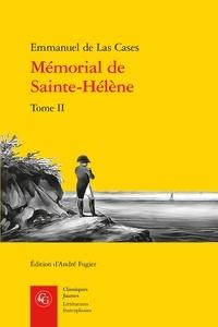 Emmanuel de Las Cases - Le mémorial de Sainte-Hélène - Tome 2.