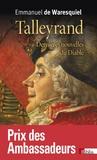 Emmanuel de Waresquiel - Talleyrand - Dernières nouvelles du diable.