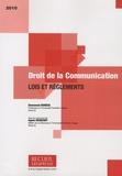 Emmanuel Derieux - Droit de la communication - Lois et règlements.