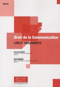 Droit de la communication - Lois et règlements.pdf