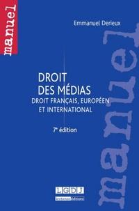 Emmanuel Derieux - Droit des médias - Droit français, européen et international.