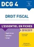 Emmanuel Disle - DCG 4 - Droit fiscal - 2018/2019 - L'essentiel en fiches.