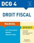 Emmanuel Disle - DCG 4 - Droit fiscal 2018/2019 - Manuel.