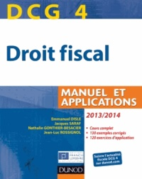 Galabria.be DCG 4 Droit fiscal - Manuel et applications Image