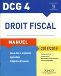 Emmanuel Disle et Jacques Saraf - Droit fiscal DCG 4 - Manuel.