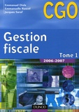 Emmanuel Disle et Emmanuelle Rascol - Gestion fiscale BTS CGO - Tome 1.