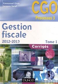 Feriasdhiver.fr Gestion fiscale Processus 3 - Corrigés Tome 1 Image