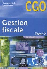 Emmanuel Disle et Jacques Saraf - Gestion fiscale - Tome 2, Processus 3 : Gestion fiscale et relations avec l'administration des impôts.