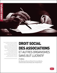 Emmanuel Dockès - Droit social des associations et fondations.