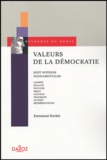Emmanuel Dockès - Valeurs de la démocratie - Huit notions fondamentales.