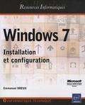 Emmanuel Dreux - Windows 7 - Installation et configuration.