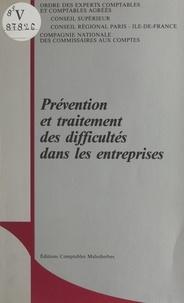 Emmanuel Du Pontavice - Prévention et traitement des difficultés dans les entreprises.