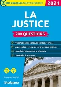 Emmanuel Dupic - 200 questions sur la justice.