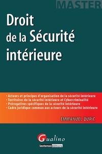 Deedr.fr Droit de la Sécurité intérieure Image