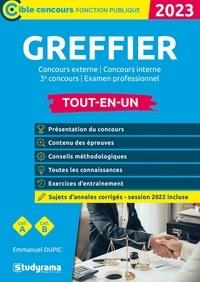 Emmanuel Dupic - Greffier - Concours externe / Concours interne / 3e concours.