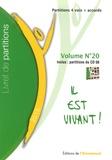 Emmanuel (Editions de l') - Livret de partitions, volume n°20 - Partitions 4 voix + accords.
