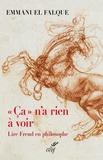 """Emmanuel Falque - """"Ca"""" n'a rien à voir - Lire Freud en philosophie."""