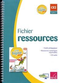 Emmanuel Guimberteau et Françoise Noël - Français CE2 cycle 2 A la ligne - Fichier ressources. 1 CD audio