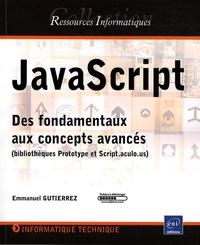 JavaScript - Des fondamentaux aux concepts avancés (bibliothèques Prototype et Script.aculo.us).pdf