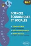 Emmanuel Hérichon - Sciences économiques et sociales Tle ES.