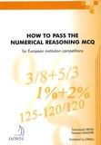 Emmanuel Hetru et Vanessa Lemaître - How to pass the numerical reasoning MCQ for European institution competitions.