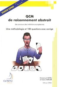 QCM de raisonnement abstrait - Tests EPSO, une méthodologie et 180 questions avec corrigé.pdf