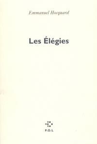 Emmanuel Hocquard - Les Élégies.
