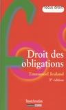 Emmanuel Jeuland - Droit des obligations.