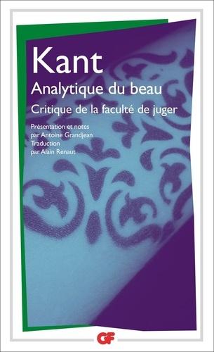 Critique de la faculté de juger - Format ePub - 9782081250512 - 3,99 €
