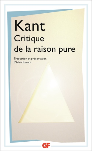 Critique De La Raison Pure Kant