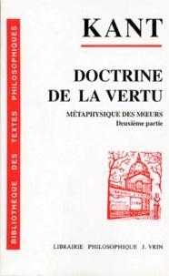 Lemememonde.fr DOCTRINE DE LA VERTU. Métaphysique des moeurs, 2ème partie Image