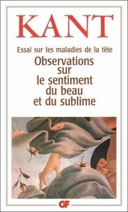 ESSAI SUR LES MALADIES DE LA TETE. - Observation sur le sentiment du beau et du sublime.pdf