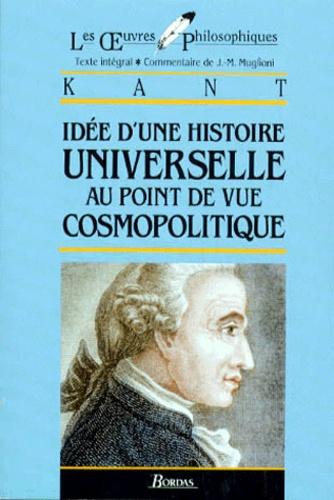 Kant Idée D Une Histoire Universelle