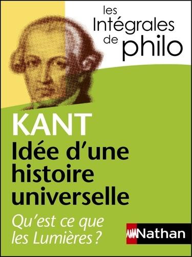 Idée d'une histoire universelle au point de vue cosmopolitique - Format ePub - 9782098140257 - 5,99 €