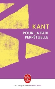 Deedr.fr Pour la paix perpétuelle. - Projet philosophique suivi d'un choix de textes sur la paix et la guerre d'Erasme à Freud Image