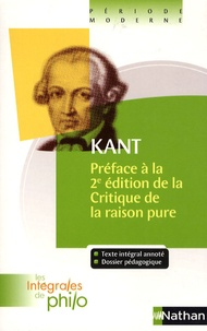 Préface à la 2e édition de la Critique de la raison pure - Emmanuel Kant |