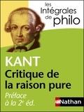 Emmanuel Kant - Préface à la 2e édition de la Critique de la raison pure.