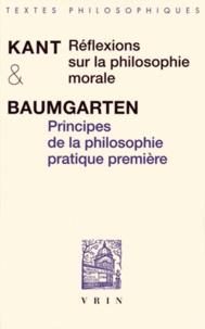 Galabria.be Réflexions sur la philosophie morale précédé de Principes de la philosophie pratique première Image