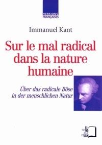 Openwetlab.it Sur le mal radical dans la nature humaine - Edition bilingue français-allemand Image