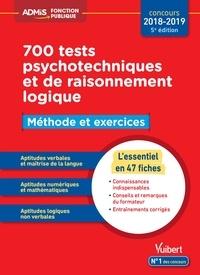 700 tests psychotechniques et de raisonnement logique - Méthode et exercices.pdf