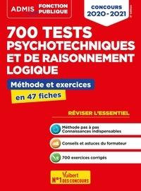 Emmanuel Kerdraon - 700 tests psychotechniques et de raisonnement logique - Méthode et exercices en 47 fiches.