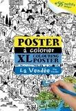Emmanuel Kerner - La Vendée - Poster à colorier XXL.