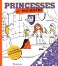Emmanuel Kerner - Princesses et pochoirs - Avec 1 planche de pochoirs pour compléter les images.