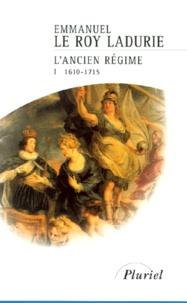 Accentsonline.fr L'Ancien Régime. - Tome 1, 1610-1715 Image