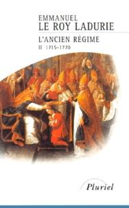 Deedr.fr L'Ancien Régime. - Tome 2, 1715-1770 Image