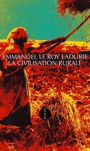 La Civilisation rurale.pdf